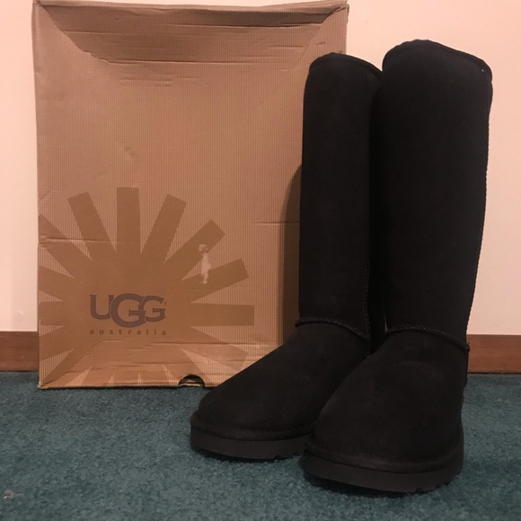 7793e145218 NWOT - Tall Black UGG Boots, still in the box.